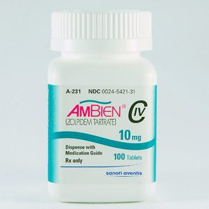 AMBIEN (ZOLPIDEM-TARTRATE) 10MG
