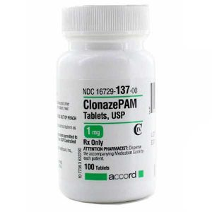 Clonazepam (Klonopin) Generic 1mg and 2mg